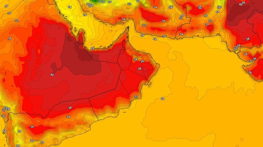 عُمان | طقس حار إلى شديد الحرارة الثلاثاء في بعض المناطق