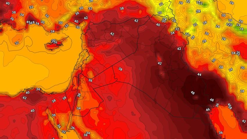 الكويت | حالة الطقس المُتوقعة الثلاثاء 3/8/2021