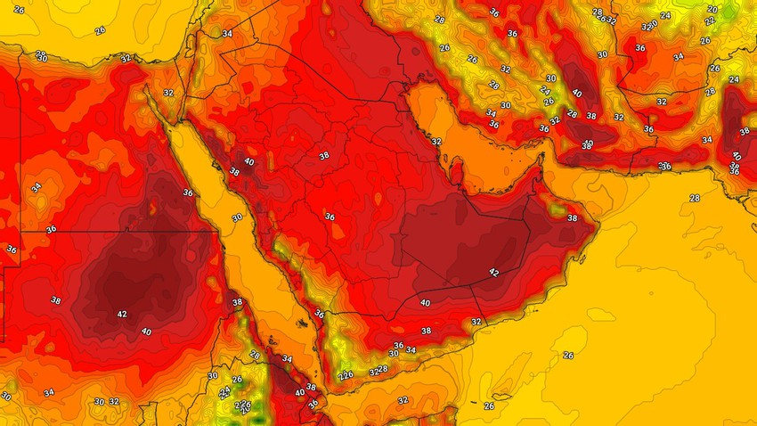 Yemen | Thunderstorms are expected in these areas on Wednesday