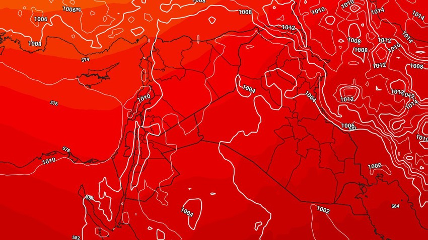Iraq | The return of temperatures to rise on Wednesday and the opportunity for thunderstorms of rain in separate parts