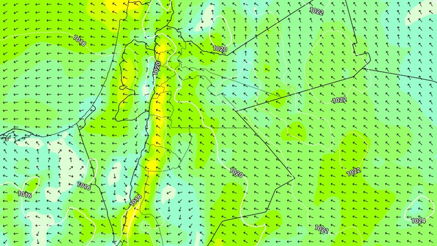 السبت | طقس بارد مع اشتداد على سرعة الرياح الشرقية