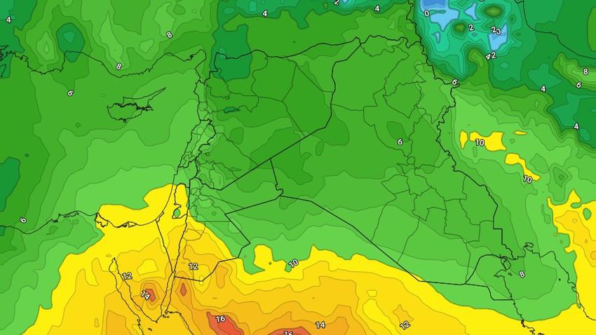 الثلاثاء   تراجع حدة الرياح الشرقية مع ارتفاع طفيف على الحرارة وبقاء الأجواء باردة