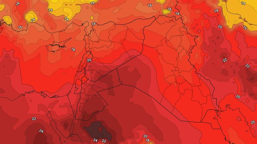 السبت | بدء تأثر المملكة بأول موجة حارة لهذا العام وارتفاع كبير على درجات الحرارة