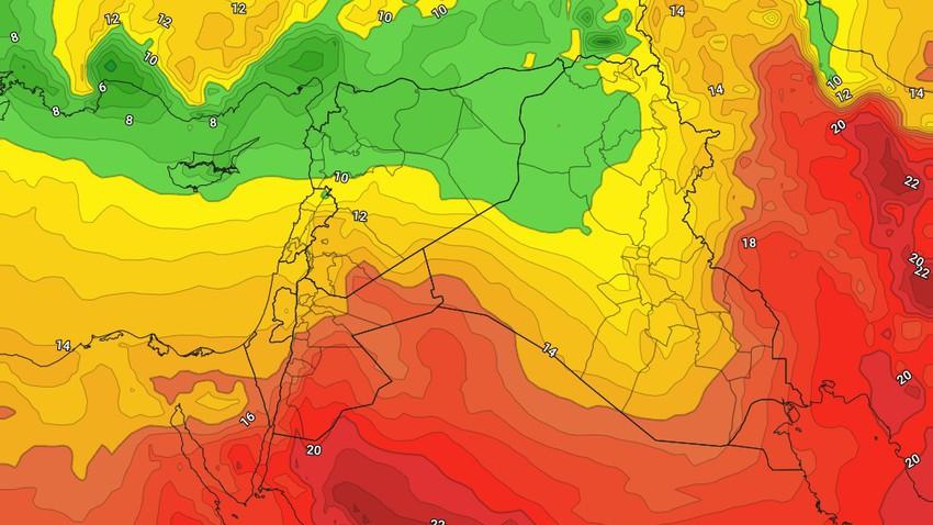 العراق | ارتفاع ملموس على درجات الحرارة يوم الاربعاء