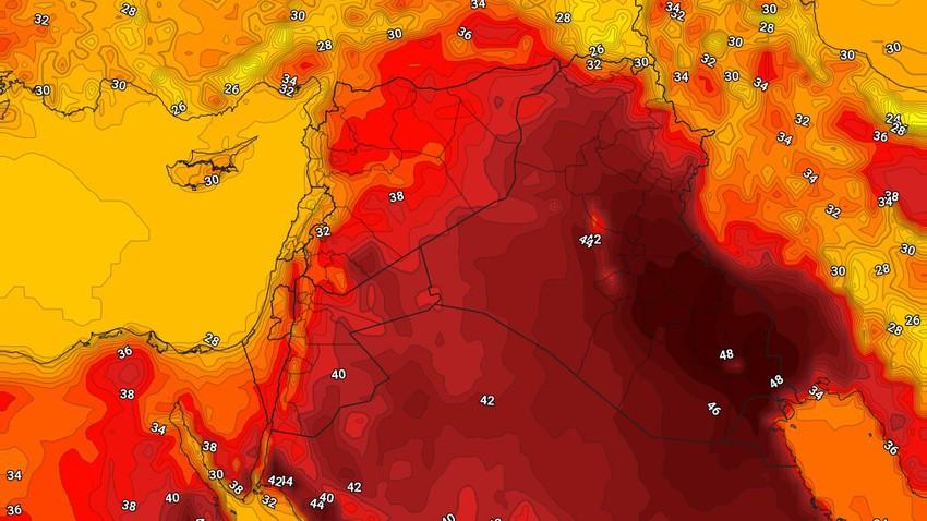 Irak | Des températures au dessus de la moyenne avec les premiers jours de l'automne en météorologie