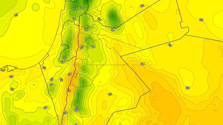 الجمعة | انخفاض على درجات الحرارة مع تساقط زخات متفرقة من الأمطار في بعض المناطق