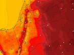 Jordanie | Temps d'été normal lundi avec des nuages bas
