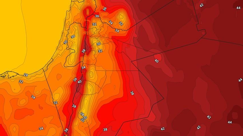الأردن | طقس صيفي إعتيادي الإثنين مع ظهور السُحب المُنخفضة