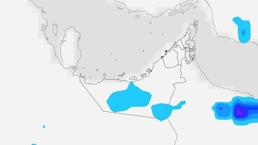 الإمارات | طقس شديد الحرارة الخميس واستمرار فرص الأمطار الخفيفة على بعض المناطق