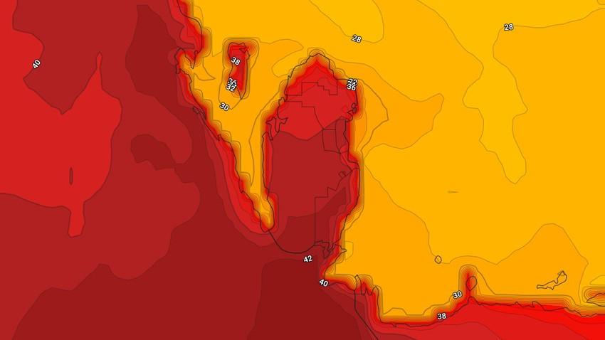 Bahrain | Weather forecast on Monday 10/5/2021