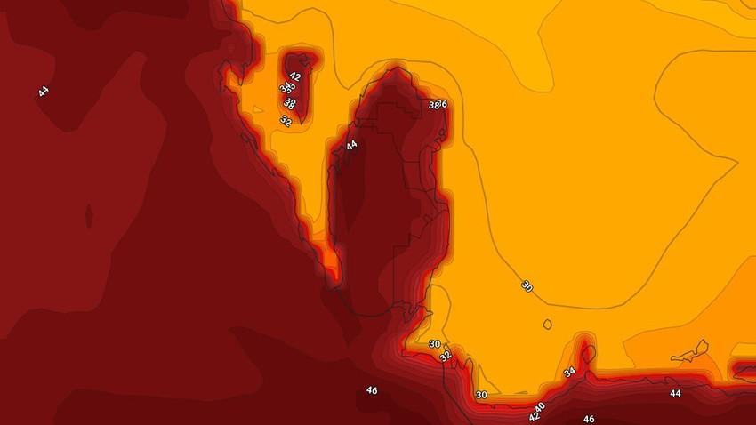 البحرين   حالة الطقس المُتوقعة يوم الإثنين 24/5/2021