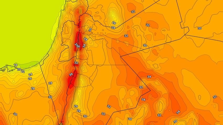 الجمعة | مزيد من الارتفاع على درجات الحرارة وأجواء دافئة في المرتفعات وحارة نسبياً في باقي المناطق