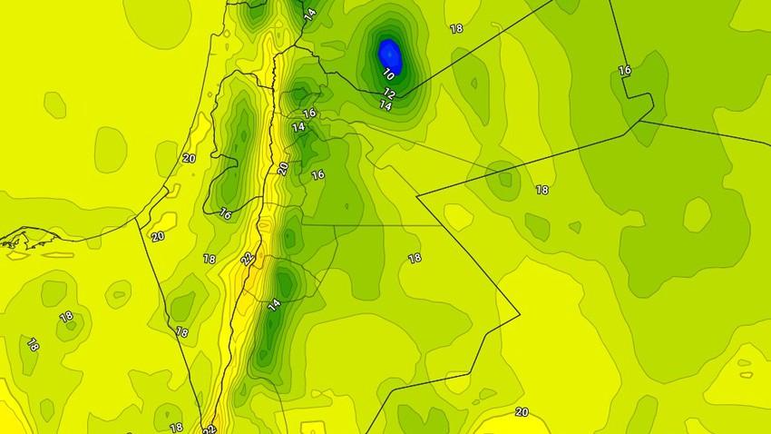 الأربعاء   عودة درجات الحرارة للانخفاض مع بقاء الفرص مهيأة لزخات من الامطار في بعض المناطق