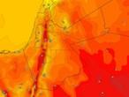 الأردن | إنخفاض مُتوقع على درجات الحرارة مع اول ايام فصل الخريف مع نشاط في سرعة الرياح