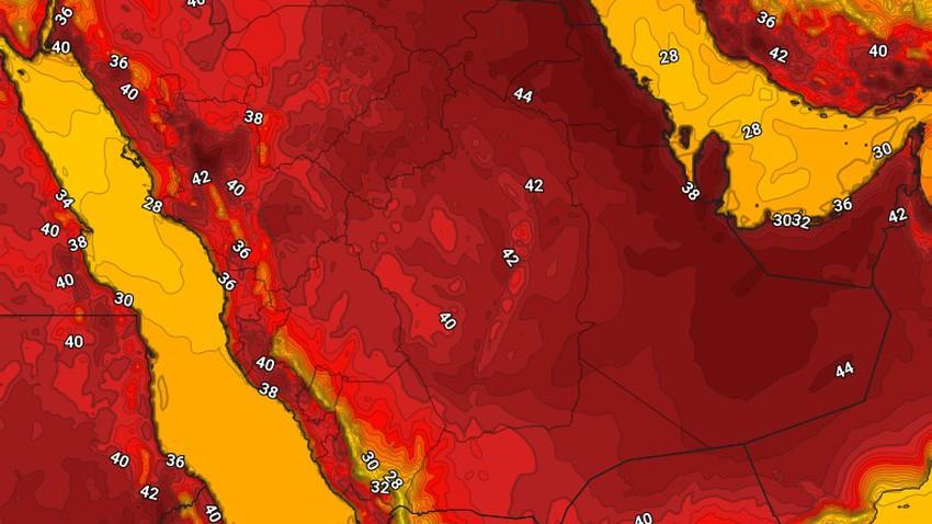 اليمن   حالة الطقس المُتوقعة الأربعاء 19/5/2021