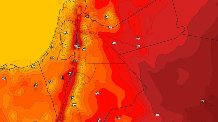 Jordanie | Les températures augmenteront à nouveau dimanche pour être autour de la moyenne pour cette période de l'année
