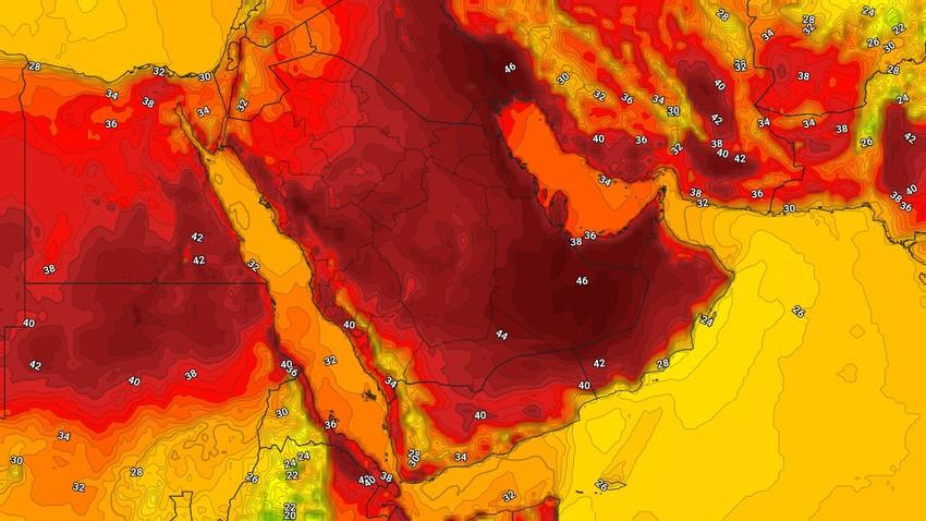 اليمن | تراجع فرص هطول الأمطار وشدتها عن المرتفعات الجبلية الإثنين