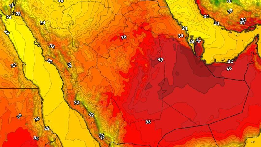 اليمن | استمرار نشاط السُحب الرعدية على المرتفعات الغربية