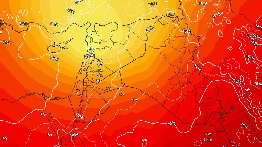 العراق | ارتفاع على درجات الحرارة الإثنين وفرصة لزخات مطرية اقصى شمال البلاد