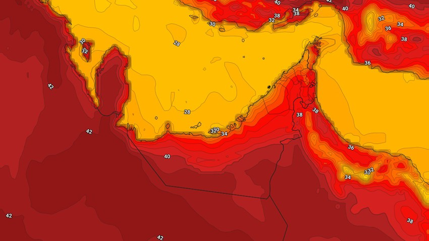 Emirates | Hot and stable weather on Tuesday