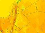 الأردن | طقس خريفي مُعتدل الخميس مع إنتشار تدريجي لكميات من السُحب وفرصة لزخات من الأمطار في بعض المناطق