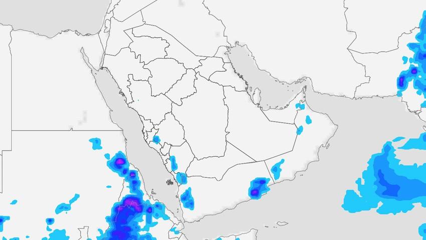 Yémen - Week-end | Orages attendus sur les hauts plateaux de l'ouest et les régions de l'est du pays