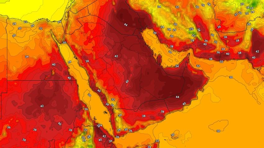 اليمن | حالة الطقس المُتوقعة يوم الإثنين 17/5/2021