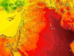 Irak | Une baisse des températures mercredi avec l'activité des vents poussiéreux du nord-ouest