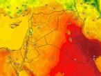 العراق | ارتفاع إضافي على درجات الحرارة الاربعاء لتصبح حول إلى أقل من مُعدلاتها