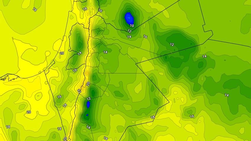 السبت   طقس بارد نسبيًا مع استمرار تأثر المملكة بحالة من عدم الاستقرار الجوي