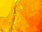 Jordanie | Les températures restent en dessous de leur moyenne et un temps d'automne doux en montagne mercredi