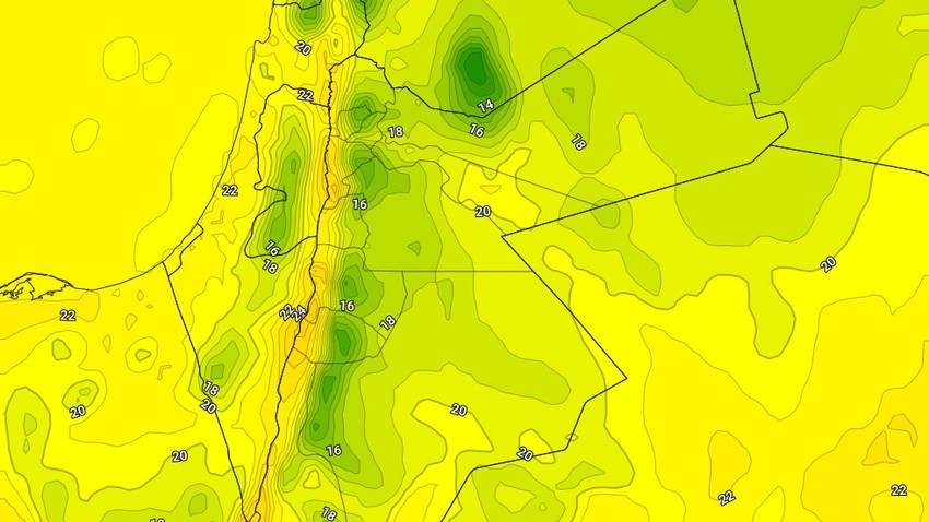 الأثنين | طقس مائل للبرودة في غالبية المناطق مع فرصة ضعيفة لزخات محلية من الأمطار