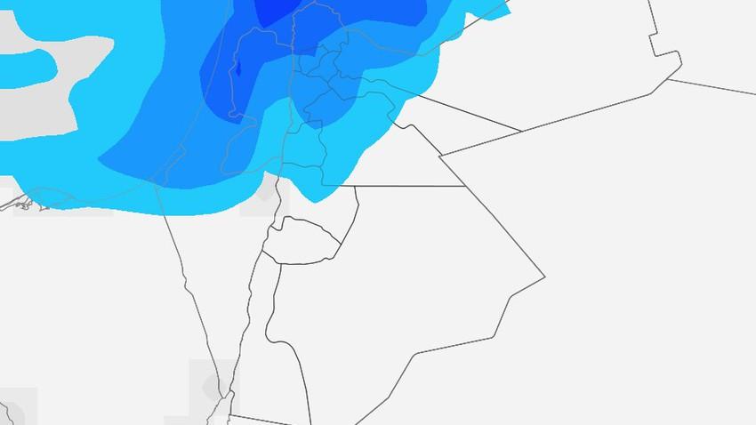 الجمعة | طقس بارد نسبةً لهذا الوقت من العام وزخات أمطار في شمال ووسط المملكة . التفاصيل