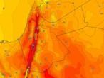 الأردن | المزيد من الارتفاع على درجات الحرارة والطقس يصبح حاراً نسبياً الأحد