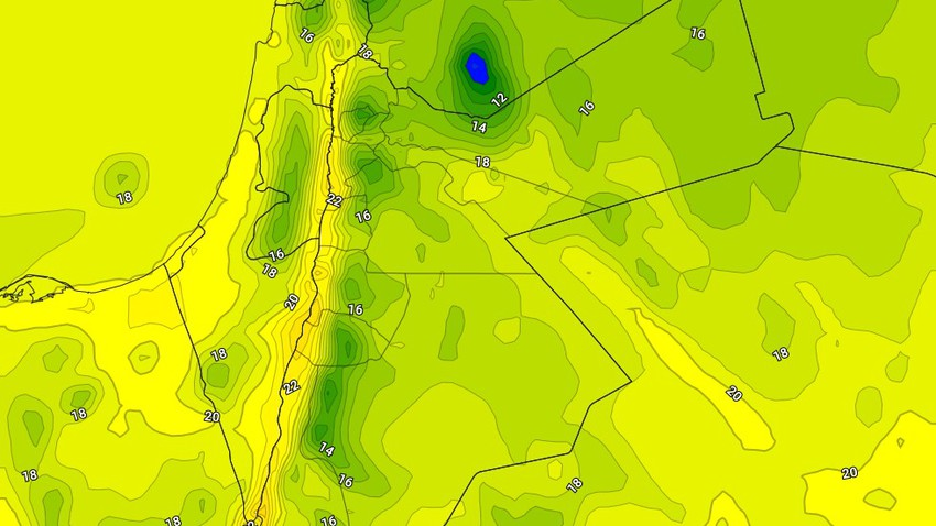 الجمعة   طقس بارد نسبيًا في عموم مناطق المملكة