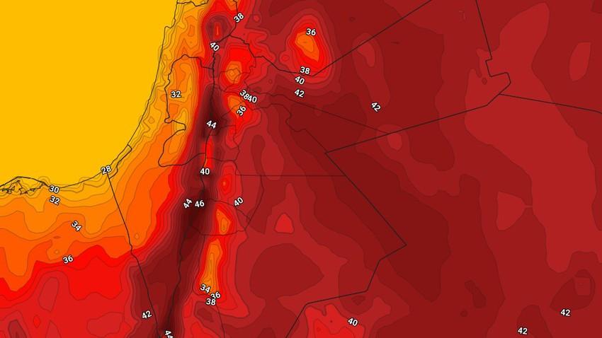 الأحد | إنخفاض على درجات الحرارة مع بقاء الأجواء حارة