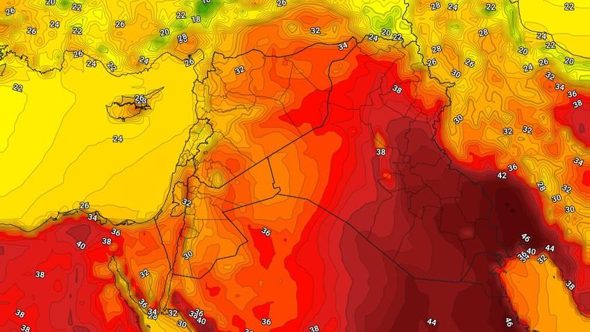 الكويت | حالة الطقس المُتوقعة الاربعاء 9/6/2021