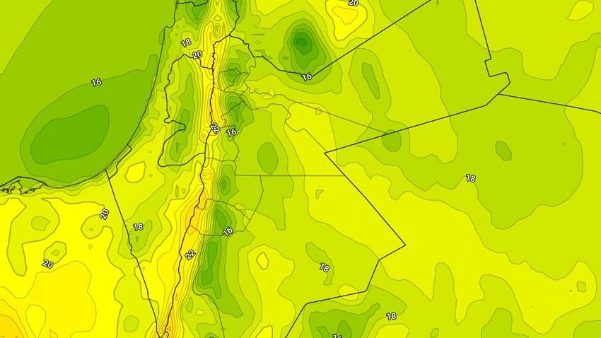 الاحد | ارتفاع على درجات الحرارة وأجواء تميل للدفء في بعض المناطق
