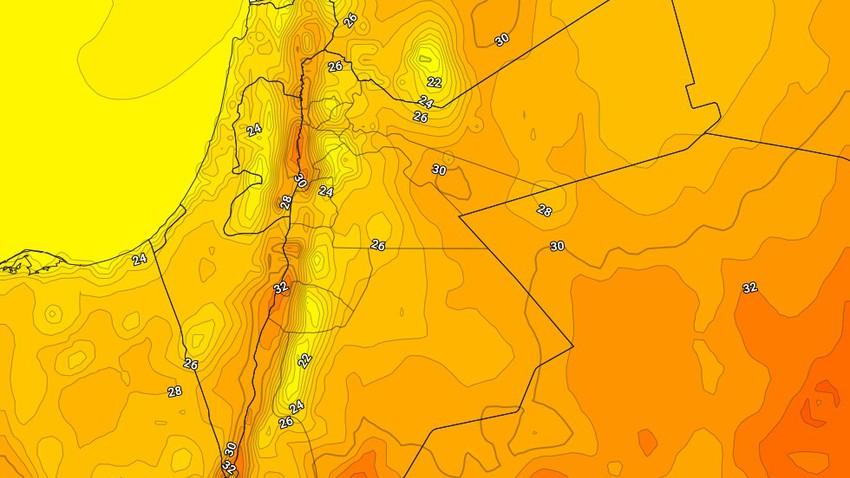 الأحد | استمرار تأثر المملكة بالكتلة الهوائية المُعتدلة وبقاء درجات الحرارة اقل من مُعدلاتها