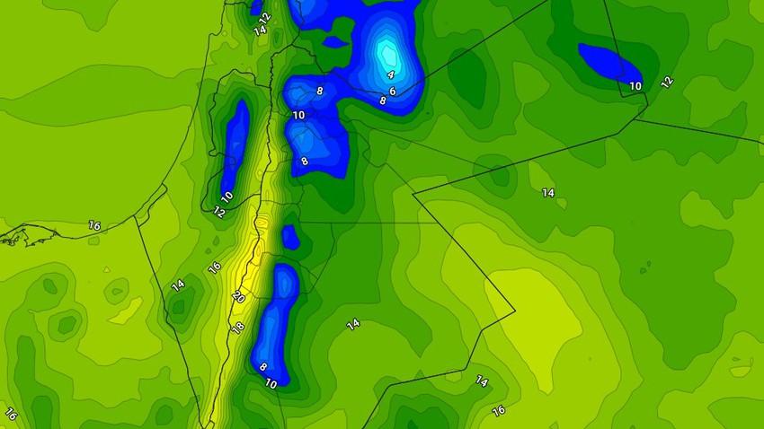 الإثنين | استمرار تأثر المملكة بالمُنخفض الجوي نهاراً مع انحساره بشكل تدريجي مساءً