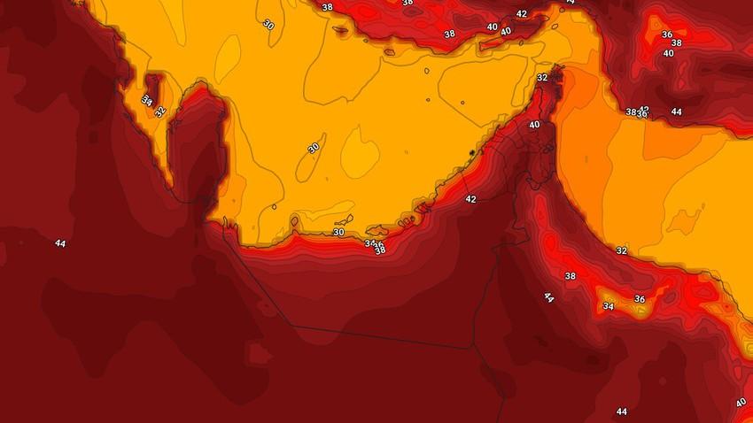 الإمارات | ارتفاع قليل على درجات الحرارة الجمعة وضباب كثيف في هذه المناطق فجر السبت