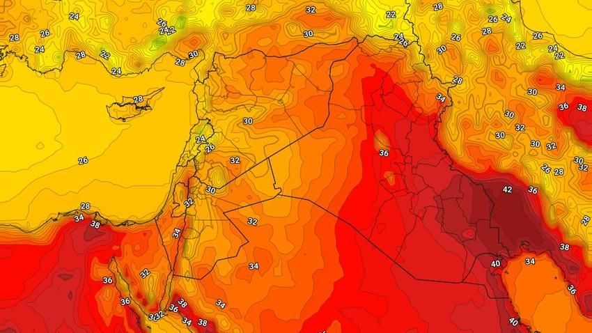 العراق | ارتفاع طفيف على درجات الحرارة الإثنين