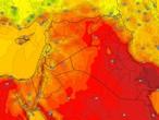 العراق | استمرار درجات الحرارة دون مُعدلاتها مع نشاط في سرعة الرياح  الأربعاء