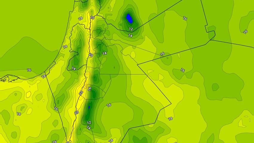 الخميس   ارتفاع على درجات الحرارة مع ظهور السُحب المتفرقة