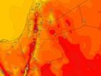 الأردن | ارتفاع آخر على درجات الحرارة مع أجواء حارة نسبياً الأحد