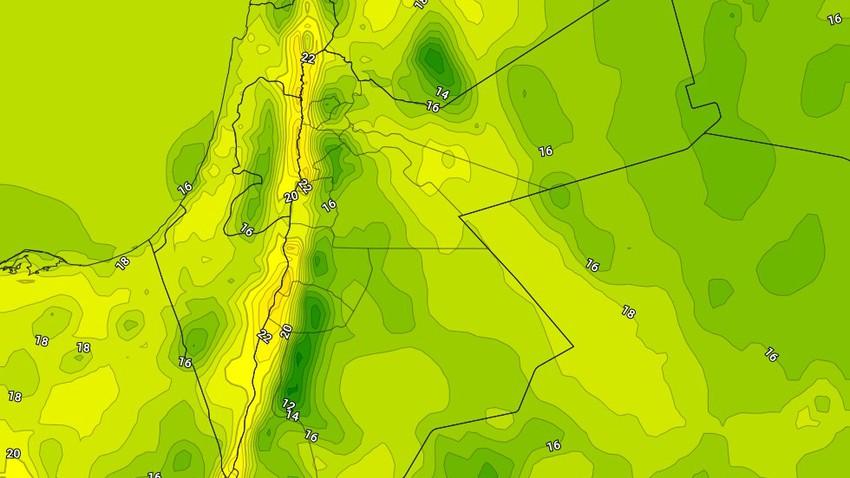 السبت   استقرار الأجواء وارتفاع على درجات الحرارة