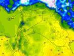 العراق | طقس دافئ الأحد مع فرصة لهطول زخات من الامطار في بعض المناطق . تفاصيل