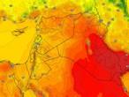 العراق | ارتفاع إضافي على درجات الحرارة مع تراجع على سرعة الرياح المُثيرة للغُبار الثلاثاء
