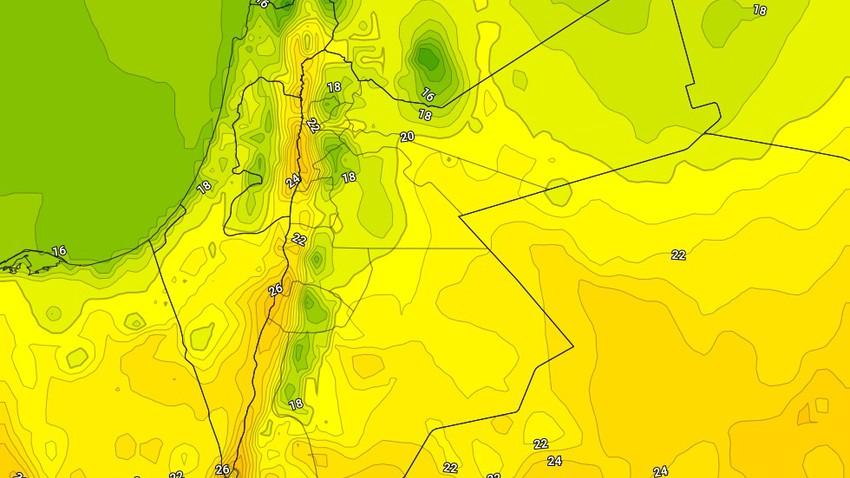 الثلاثاء | ارتفاع ملموس على درجات الحرارة وأجواء ربيعية لطيفة