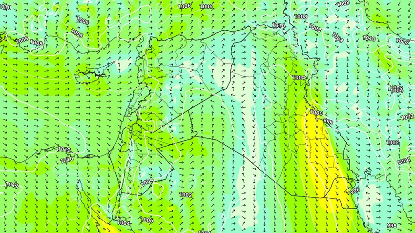 Kuwait | Hot weather Monday and expected intensification of northwest winds